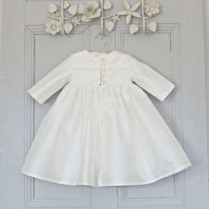 Christening Gown Coat Short Length - christening wear