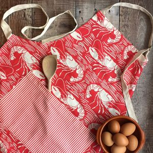 Nautical Lobster Apron - whatsnew