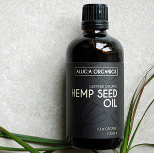Organic Hemp Seed Oil - massage & aromatherapy