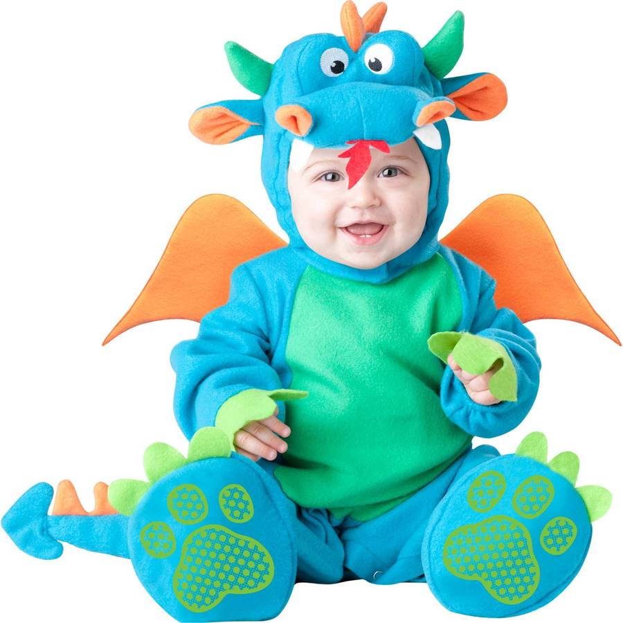 baby's dragon dress up costume by time to dress up ...
