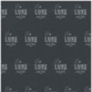 'Love' Valentine's Day Wrapping Paper