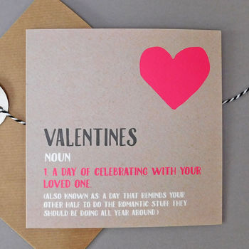 Funny Valentines Card