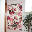 Bespoke Wedding Bouquet Hanging Textile Artwork