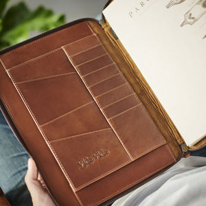 Leather Document Holder - tech accessories for him