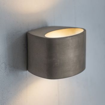 Concrete LED Wall Light