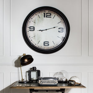 Richmond Wall Clock With Numerals - home accessories