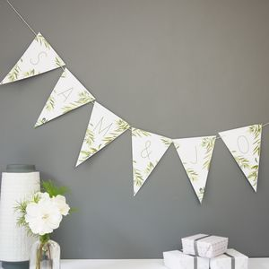 Bespoke Olive Tree Bunting - bunting & garlands