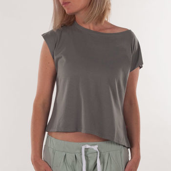 organic lounge t-shirt for women