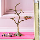 Decorative Gold Bird Jewellery Tree
