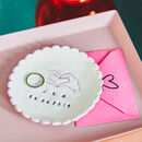 Personalised Colourful Couples Trinket Dish