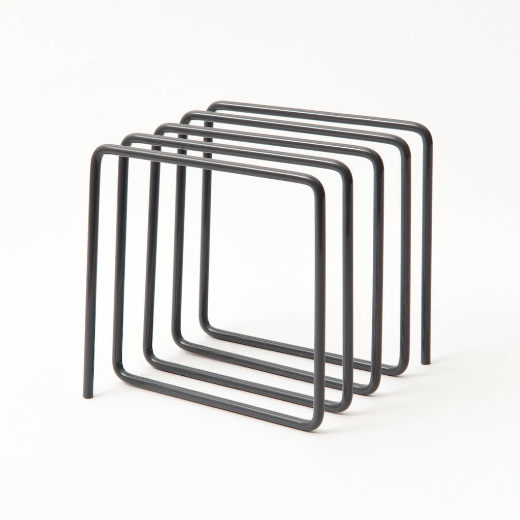 Magazine Rack, Grey