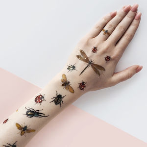 Bugs Temporary Tattoo - temporary tattoos