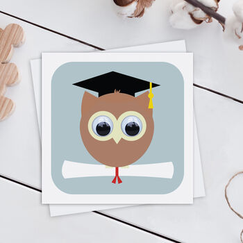 Wise Owl Graduation Card