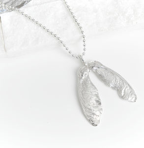 Silver Sycamore Necklace - necklaces & pendants