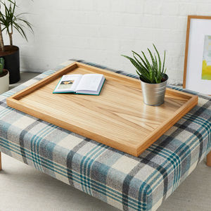 Large Luxury Wooden Tray - tableware