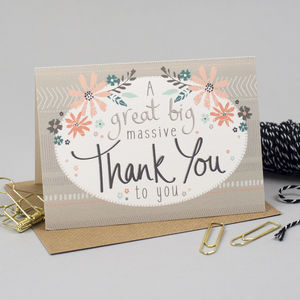 Thank You Thank You Cards - wedding stationery