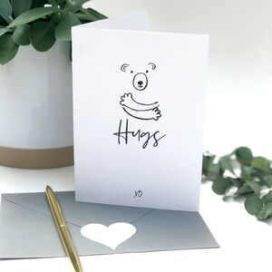 Paper Hug Bear Hugs Card