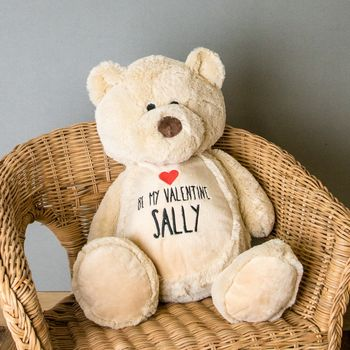 Personalised Valentine's Day Teddy Bear 2018