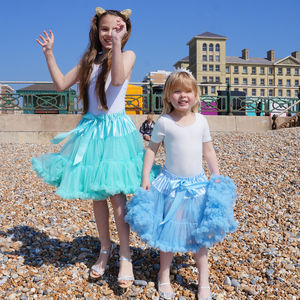 Amelie Pettiskirt ~ Mint Green - wedding and party outfits