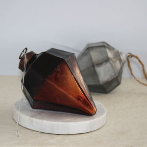 Black Copper Diamond Hanging Decoration