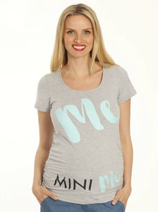 'Mini Me' Maternity T Shirt - women's fashion