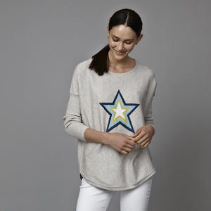 Holly Star Jumper