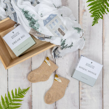 Wooden Baby Gift Box Create Your Own