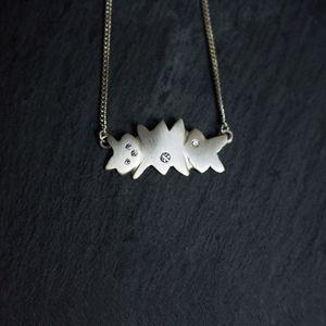 Fairtrade Asterism Pendant - women's jewellery