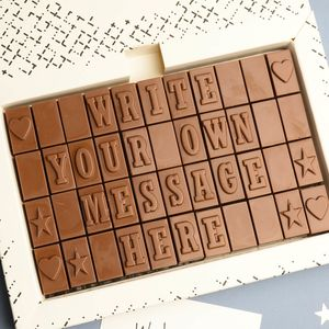 Personalised Chocolate Gift 44 Letters - chocolates & confectionery
