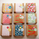 Gift Wrap Pattern Choices