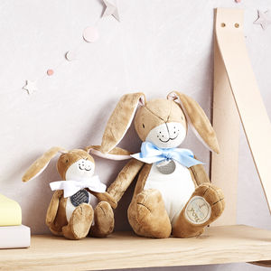 Personalised Nutbrown Hare - 1st birthday gifts