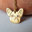 Bala The Bulldog Fairtrade Ethical Necklace