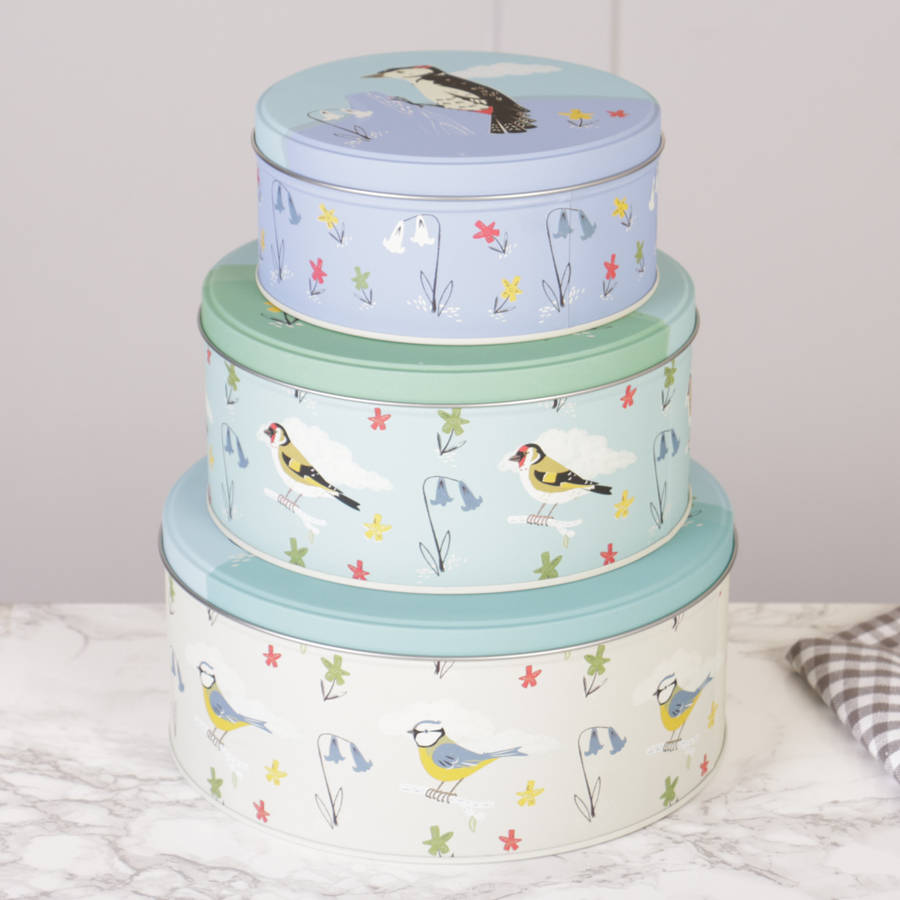 Decorative Cake Tins For Storage