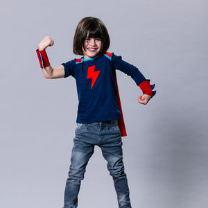 Superhero T Shirt With Cape - new in baby & child