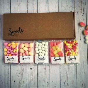 Fresh And Fruity Letterbox Sweets Gift Box - token gifts