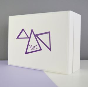 Personalised Geometric Jewellery Box