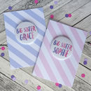 Big Sister Card With Badge