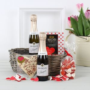 Love You Gift Hamper With Prosecco