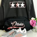 Girls Personalised Boot And Trainer Bag