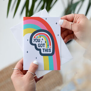 You Got This Positive Greeting Card