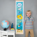Personalised Submarine Height Chart