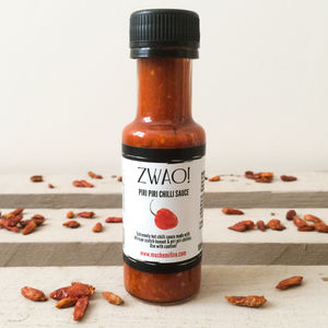 Zwao Extremely Hot Chilli Sauce - spice-lover gifts