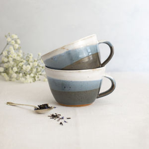 Handmade Dinky Cup Hazy Skyline - kitchen