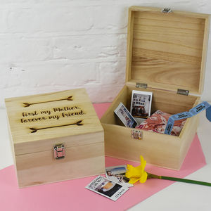 First My Mother, Forever My Friend' Memory Box - storage & organisers