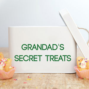 Personalised Treat Tin - kitchen accessories