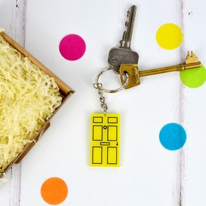 New Home Door Keyring - keyrings