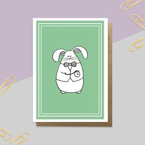 'White Rabbit' Card