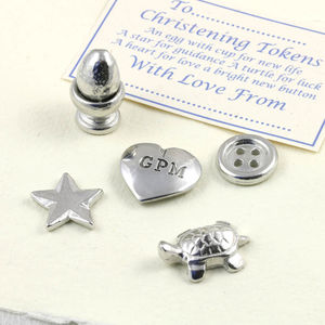 Christening Charm Personalised New Baby Gift - christening gifts