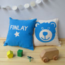 Personalised Teddy Bear Nursery Cushion