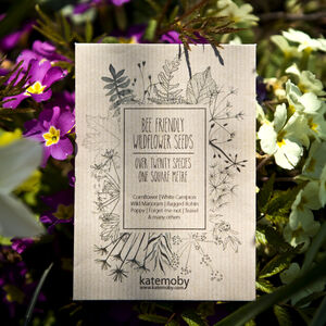 Wildflower Seeds For Bees Gift Or Wedding Favours